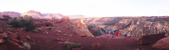 Capitol Reef National Park, UT: Sunset Point Trail