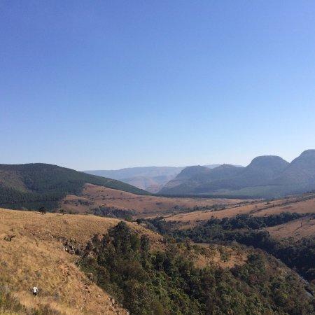 Graskop, South Africa: Uitzicht bij Lisbon Falls