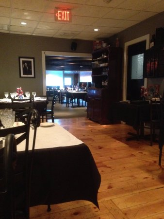 Joseph's Steakhouse: We were put in the back room even though the front room is more than half empty. Not happy with