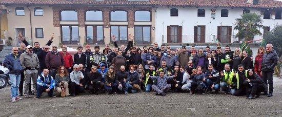 Buriasco, Italien: contenti e con la pancia piena