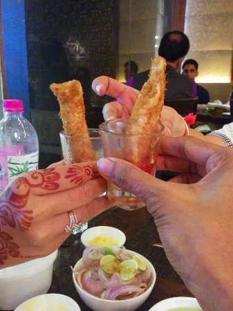 Punjab Grill: Veg kurkure