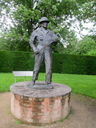 The Oil Patch Warrior - Picture of Rufford Abbey Country Park, Ollerton - Tripadvisor