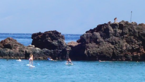Black Rock Beach At Maui Sheraton Hotel Excellent Snorkeling