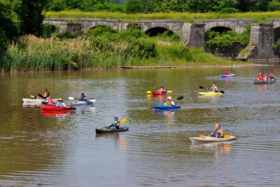 Fort Hunter, NY: A terrific place to Kayak or Canoe the Schoharie Creek & Mohawk River