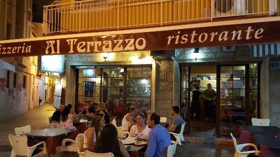 Pizzeria Italiana Al Terrazzo - Picture of Pizzeria Italiana Al ...