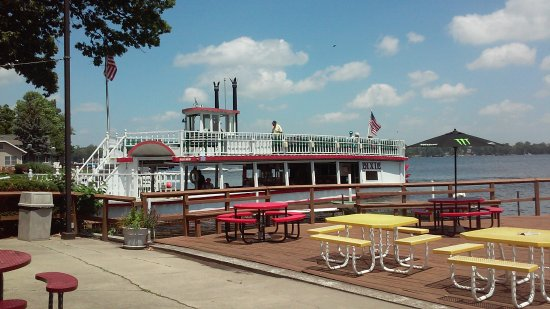North Webster, IN: Dixie Ferry, view from restaurant