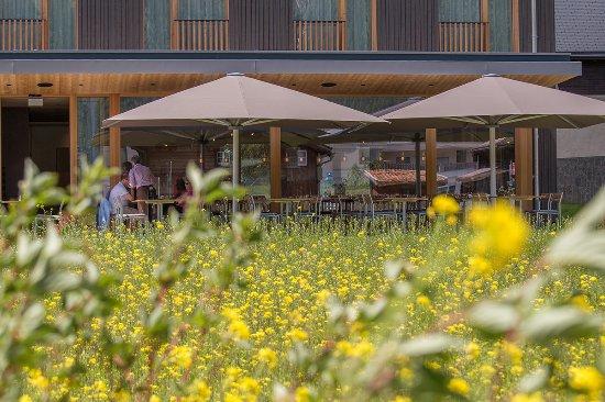 Bever, Szwajcaria: Terrasse