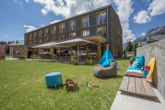 Bever, Suiza: Hotel Spielwiese