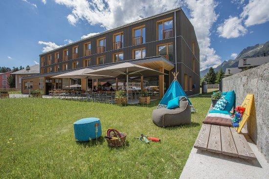 Bever, Швейцария: Hotel Spielwiese
