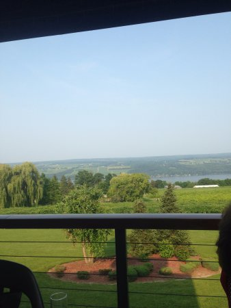 Dundee, NY: View from the deck