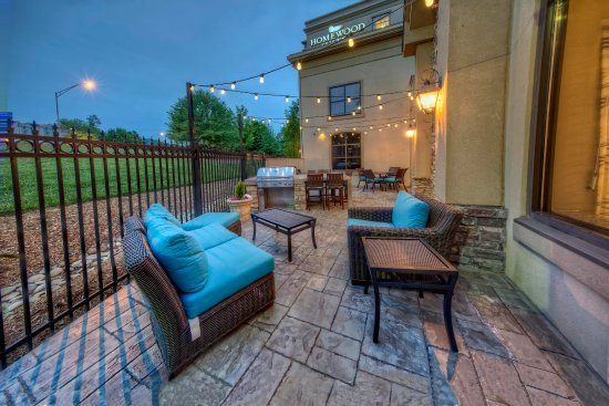 Homewood Suites by Hilton Asheville- Tunnel Road: Outdoor Patio