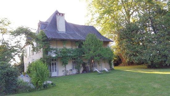 Maison Lespoune : facade côté chambre