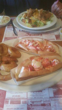 Greenville, ME: Lobster Rolls