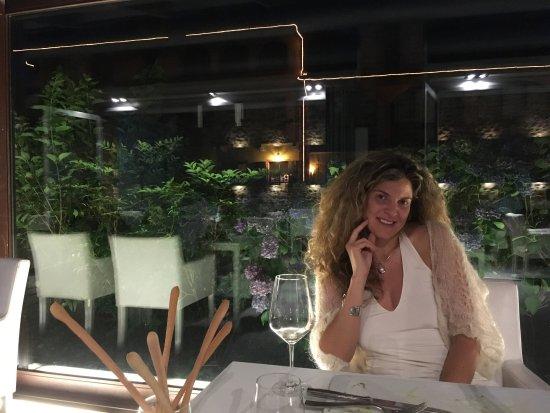 Buriasco, Italien: Location fantastica, cena indimenticabile