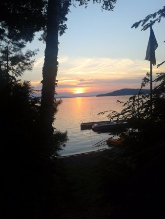 Greenville, ME: Moosehead Lake Sunset