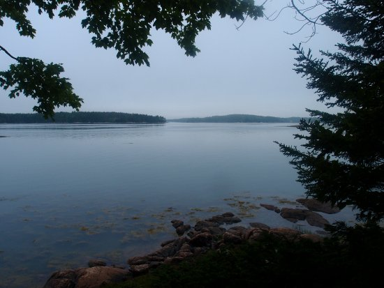 Stonington, ME: View from Tennis Preserve