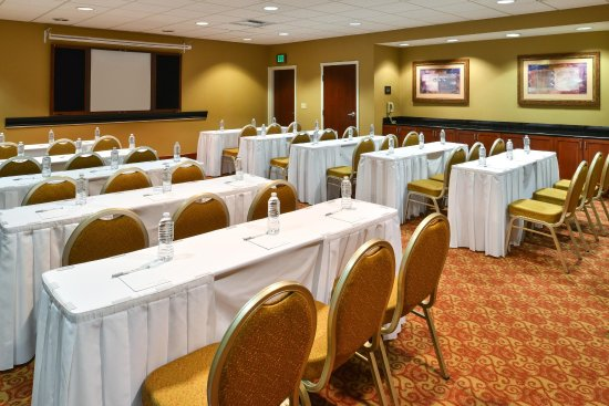 Hampton Inn & Suites Tacoma-Mall: Meeting Room Classroom