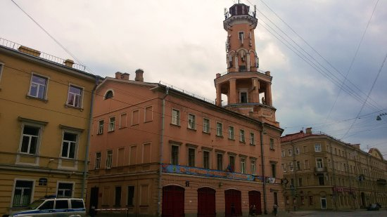 ‪Syezzhiy House of Spasskaya Station - Fire Station‬