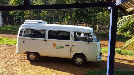 Juma Amazon Lodge: 2nd Van ride