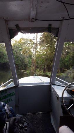 Juma Amazon Lodge: Last water taxi to lodge