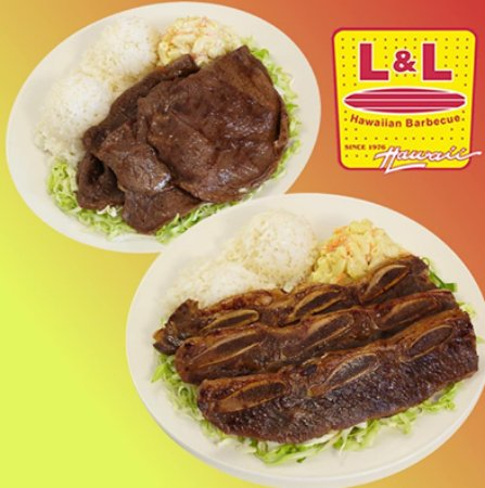 West Valley City, ยูทาห์: L&L Hawaiian Barbecue