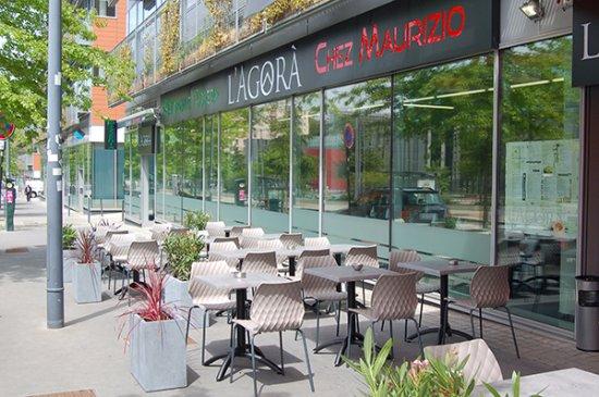 L 39 agora saint tienne restaurant avis num ro de for Bar a champagne saint etienne