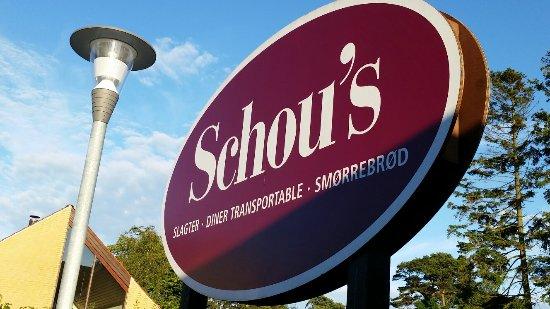 Marielyst, Дания: Schou's Restaurant