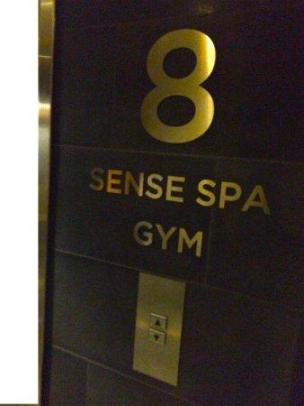 Clarion Sense Spa: Spa med bra utsikt över delar av Luleå
