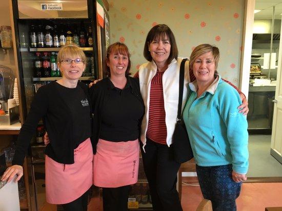 Walsh's Bakery and Coffee Shop: With Staff Members Stephanie & Natasha