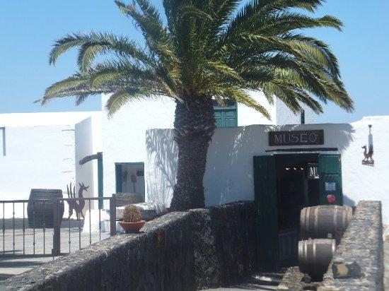 San Bartolome, España: Muzeum z degustacją.