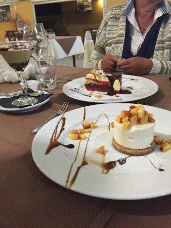 Vetralla, Itália: Dolci al cucchiaio