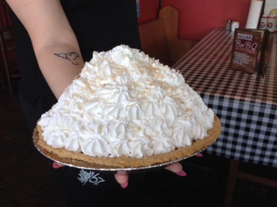 Brantford, Канада: The best homemade coconut cream pie ever!