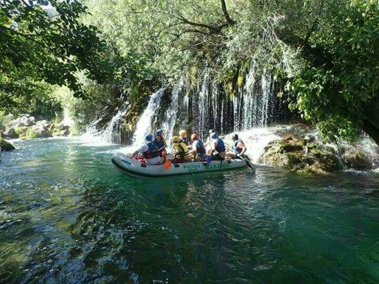 Magicum Travel: Experience rafting in beautifull enviroment on Cetina river