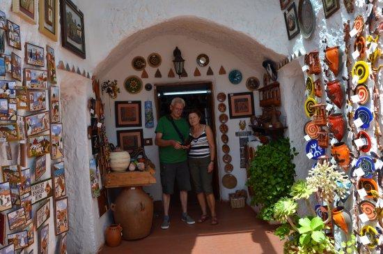 Ingenio, España: W sklepie Casa Cueva Canaria Etnográfica