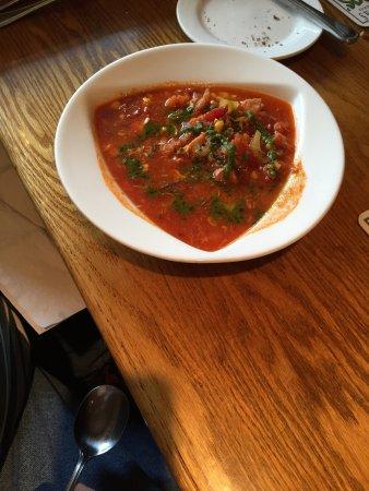 Gardiner, نيويورك: a seafood soup