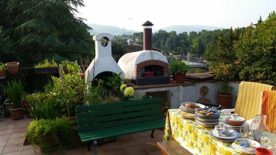 Dolce Miele: Terrasse mit Grillmöglichkeit