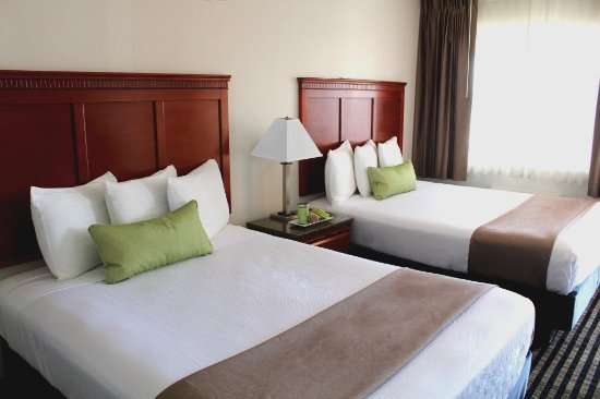 Marina Inn and  Suites: Double Queen bedroom