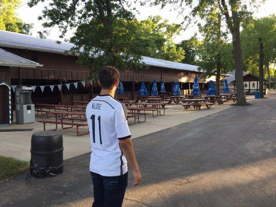 Glendale, WI: Part of the Oktoberfest grounds