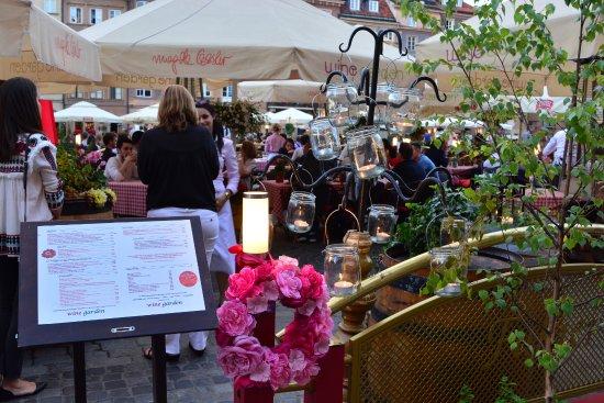 U Fukiera: Terraza del restaurante