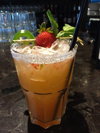 The Limelight Hotel: the jalapeño margarita our bartender invented