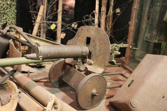 State Memorial Museum of Leningrad Defense and Blockade: Armas del campo de batalla