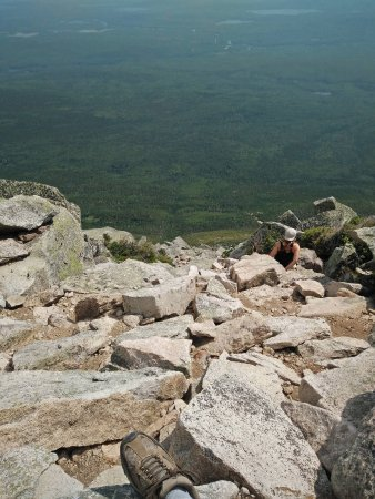 Millinocket, ME: When I was trying to go up