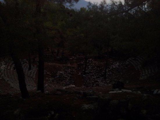 Yesiluzumlu, Turquía: kadyanda antik kenti (yeşilüzümlü, fethiye)-tiyatro