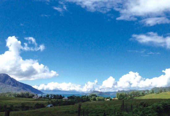 Knoydart, UK: View of Loch Nevis and Inverie