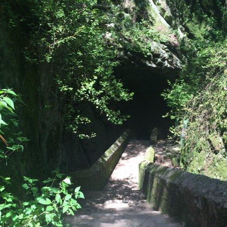 Queretaro, Meksyk: Entrada a la gruta