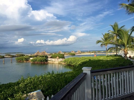 Hawks Cay Resort: View from the dolphin area...photo credit Kay Pott