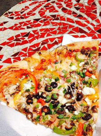 Tony's Pizza Napoletana: <3 best pizza slice!