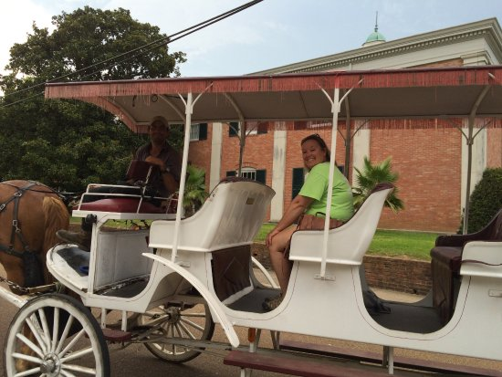 Natchez, MS: Six to eight people could ride