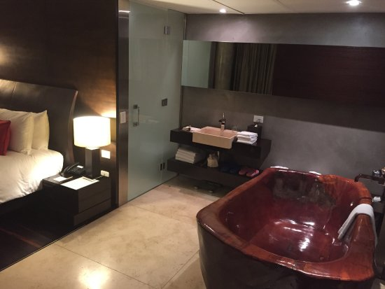 Mio Buenos Aires: Pia e acesso a area molhada do quarto