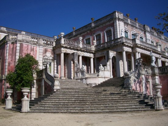 exterior do Palácio Queluz